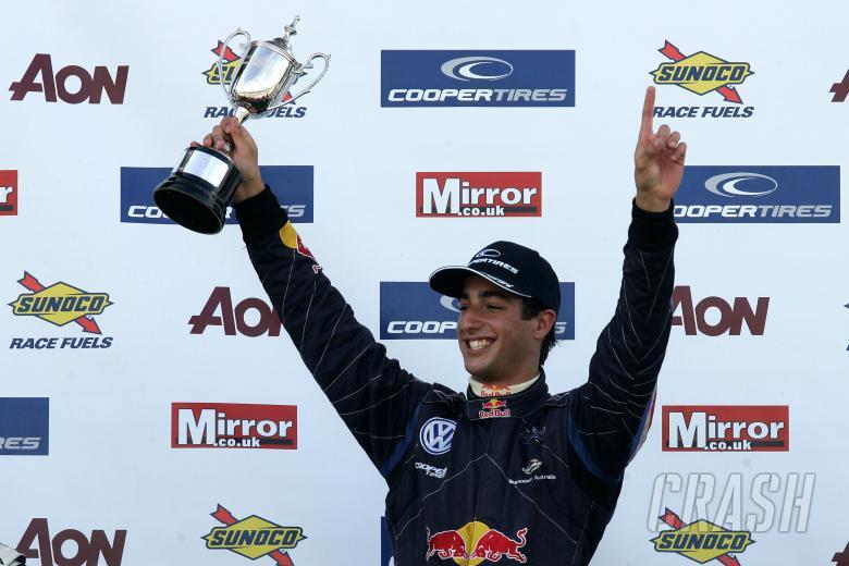 Daniel Ricciardo (AUS) - Carlin Motorsport Dallara Volkswagen