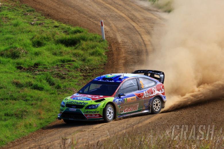 Mikko Hirvonen (Fin) Jarmo Lehtinen (Fin) BP Ford Abu Dhabi WRT, ford Focus RS WRC 09Rd 10 WRC