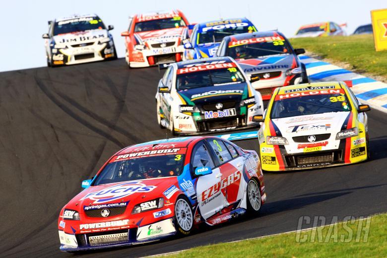 Jason Bargwanna, (Aus), Mark Noske (Aus) Sprint Gas Tasman   Commodore  Races 17 & 18 V8 Supercars