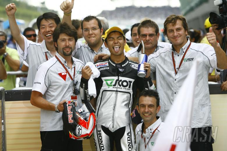 Aoyama, Malaysian 250GP Race 2009