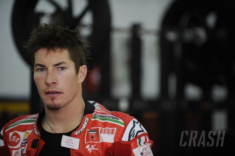 Hayden, Valencia MotoGP Test 2009