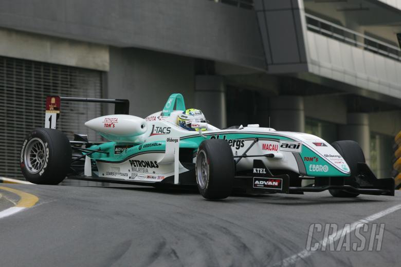 Marcus Ericsson (SWE) Team TOMs Dallara Toyota