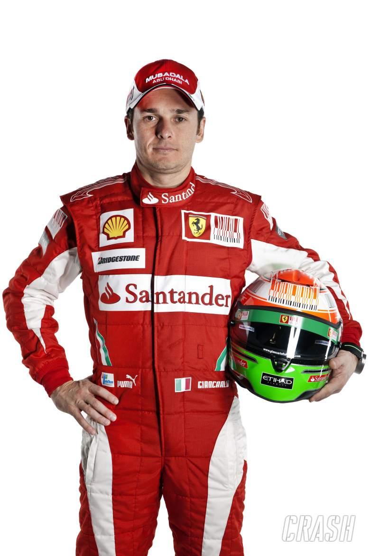 28.01.2010 Maranello, Italy, Giancarlo Fisichella (ITA), Test Driver, Scuderia Ferrari - Launch of t