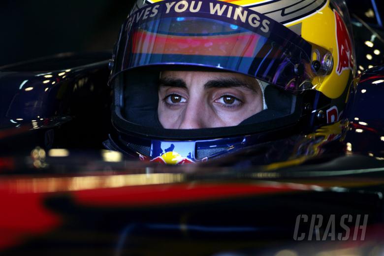 01.02.2010 Valencia, Spain, Sebastien Buemi (SUI), Scuderia Toro Rosso - Formula 1 Testing, Valencia