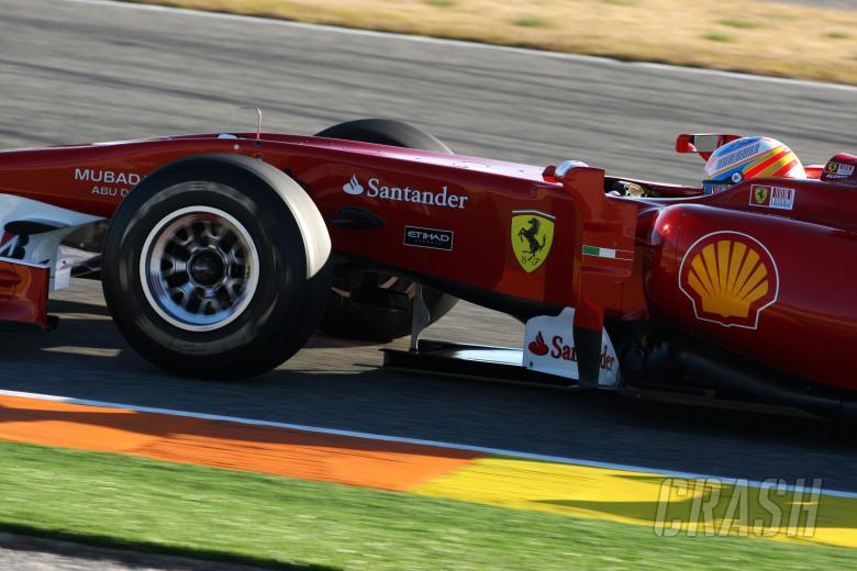 03.02.2010 Valencia, Spain, Fernando Alonso (ESP), Scuderia Ferrari, F10 - Formula 1 Testing, Valenc