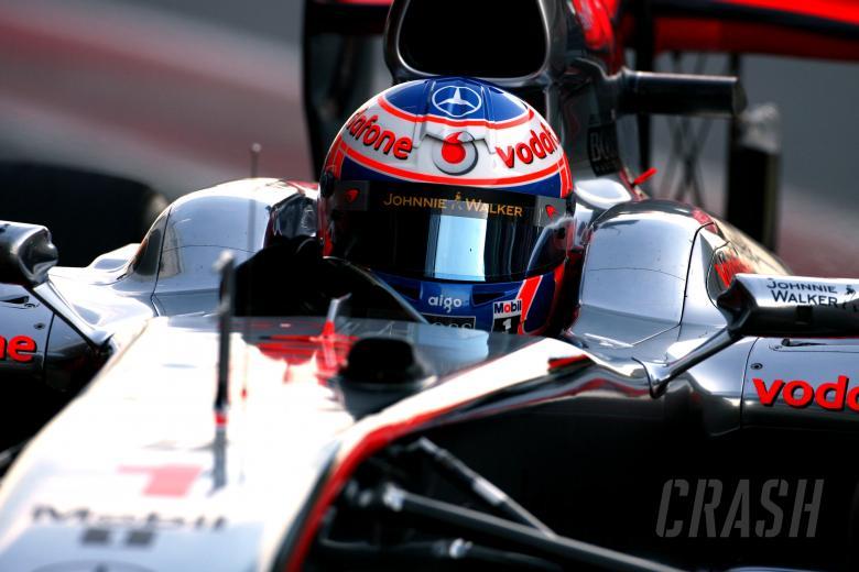 25.02.2010 Barcelona, Spain, Jenson Button (GBR), McLaren Mercedes - Formula 1 Testing, Barcelona