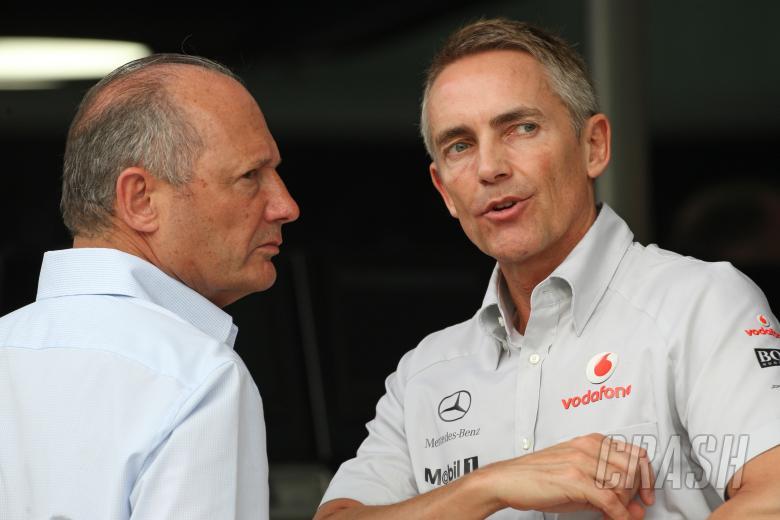 Ron Dennis, Chairman & CEO, McLaren Group & Martin Whitmarsh, Team Principal, McLaren Merced