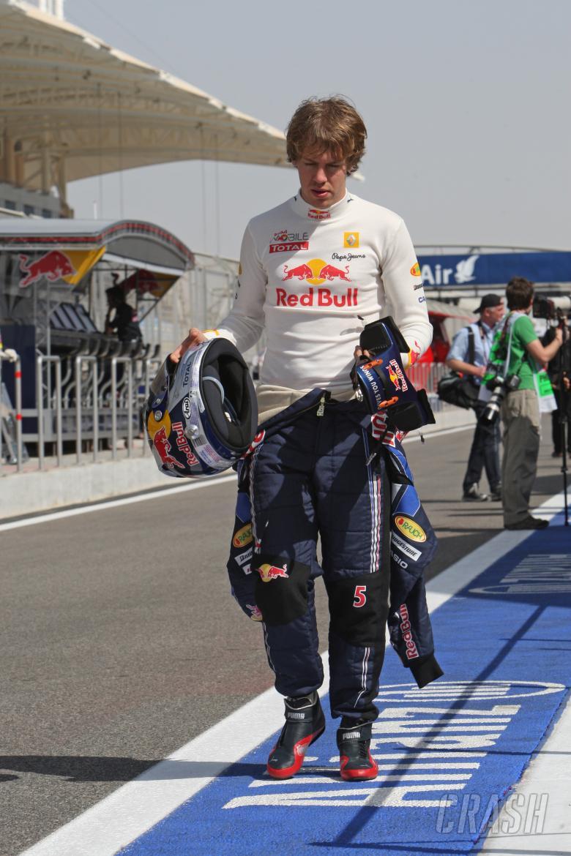 Sebastian Vettel (GER) Red Bull Racing RB 6