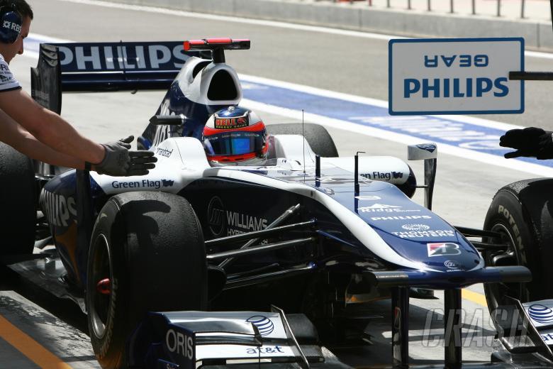 Rubens Barrichello (BRA) Williams Cosworth FW32
