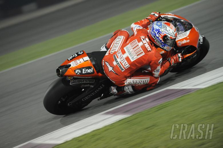 Stoner, Qatar MotoGP Test 2010