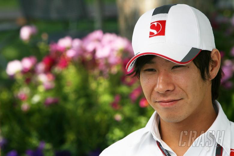 Kamui Kobayashi (J) BMW Sauber Ferrari C29
