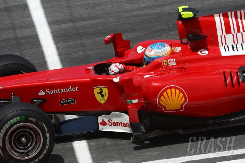 Friday Practice 2, Fernando Alonso (ESP), Scuderia Ferrari, F10
