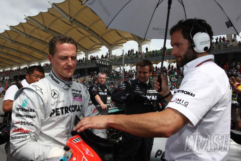 Race, Michael Schumacher (GER), Mercedes GP  F1 Team, MGP W01