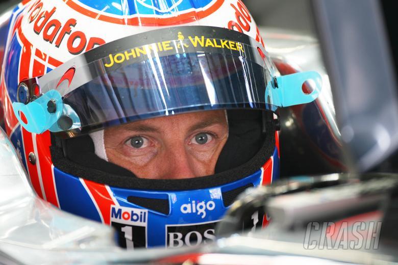 Jenson Button (GBR) McLaren Mercedes MP4-25