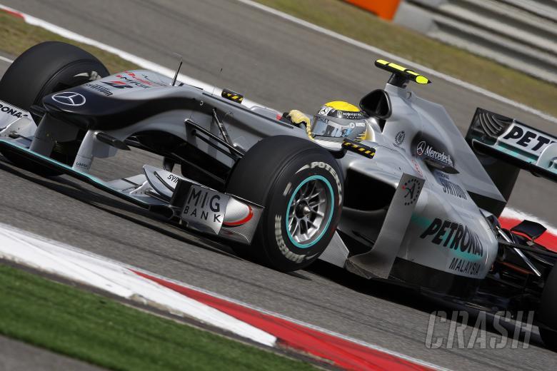 Nico Rosberg (GER) Mercedes GP MGP W01