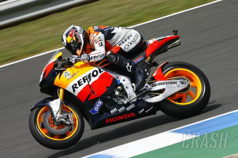 Pedrosa, Spanish MotoGP 2010