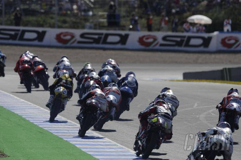 Folger, Spanish 125GP Race 2010
