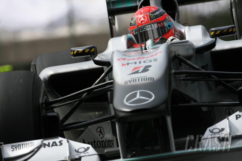 Saturday Practice, Michael Schumacher (GER), Mercedes GP  F1 Team, MGP W01