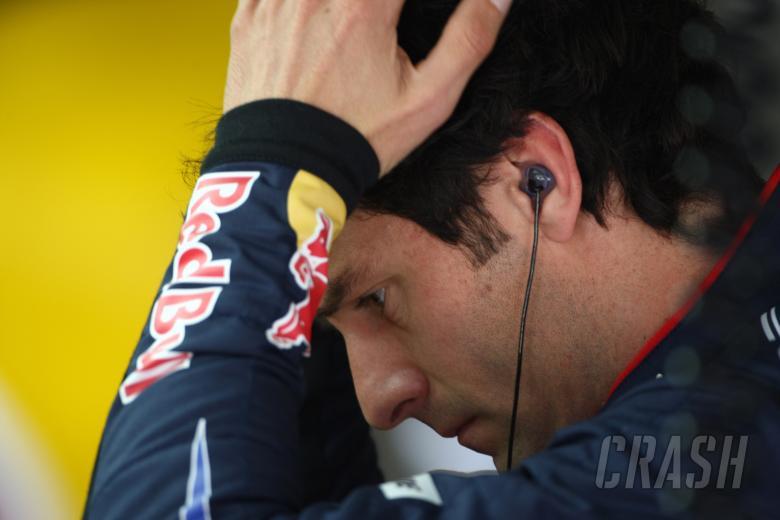 Friday Practice1, Mark Webber (AUS), Red Bull Racing, RB6