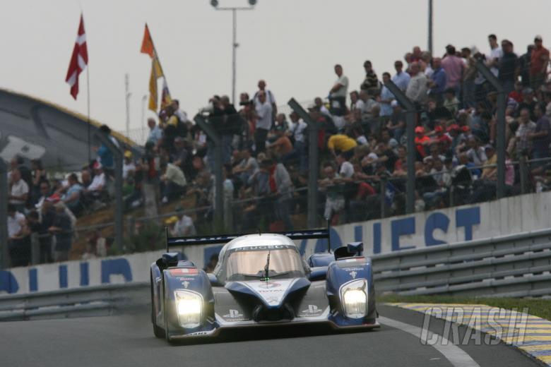 TEAM PEUGEOT TOTAL PEUGEOT 908, Alexander WURZ(AUT) Marc GENE (ESP) Anthony Davidson(GBR)