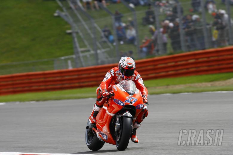 Stoner, British MotoGP 2010