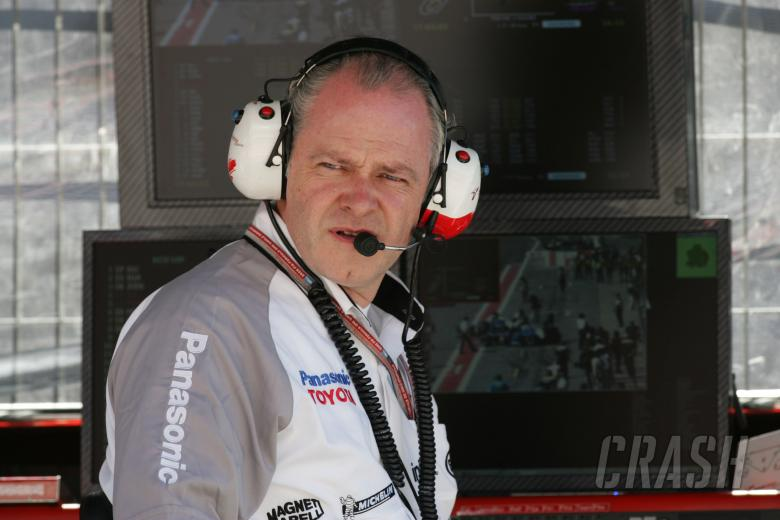 Richard Cregan - Toyota F1 operations manager