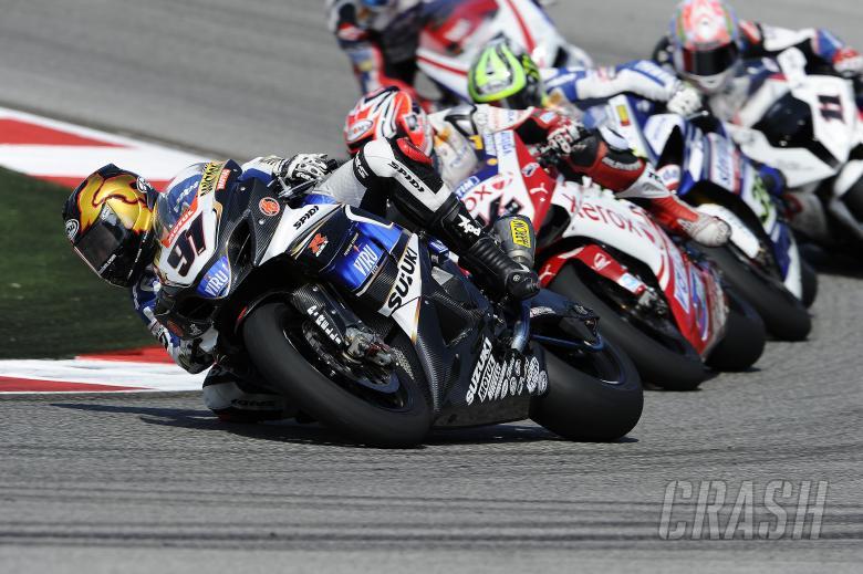 Haslam, Misano WSBK Race 2 2010