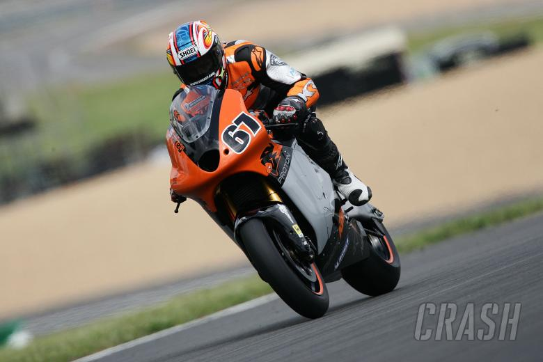 Byrne, French MotoGP, 2005