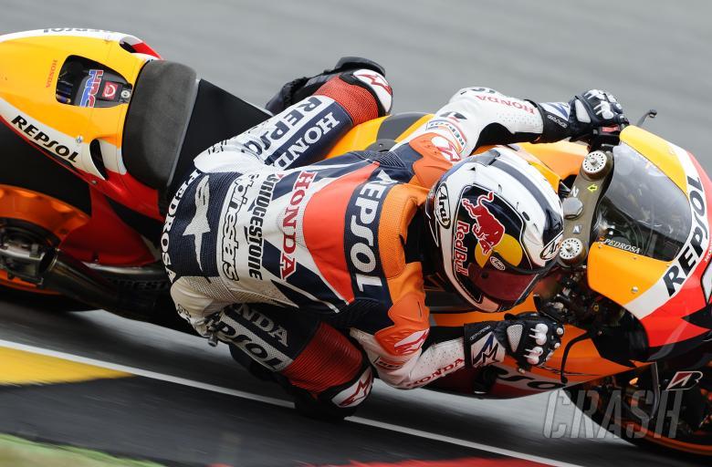 Pedrosa, German MotoGP 2010