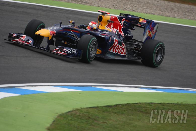 Friday Practice 2, Sebastian Vettel (GER), Red Bull Racing, RB6