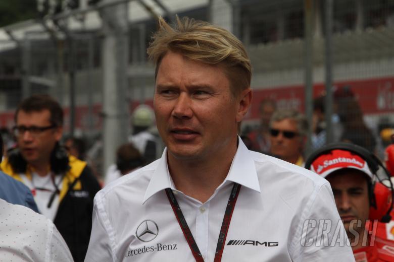 Race, Mika Hakkinen (FIN), ex F1 driver