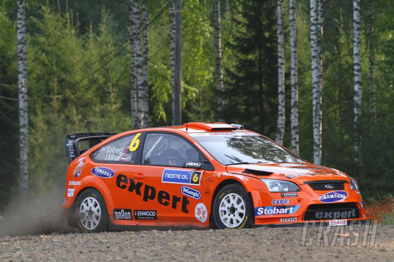 Henning Solberg (NOR) Ilka Minor (AUS), Ford Focus RS WRC 08, Stobart VK M-Sport Ford Rally Team