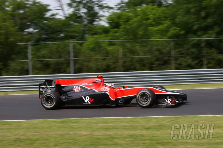 Saturday, Timo Glock (GER), Virgin Racing, VR-01