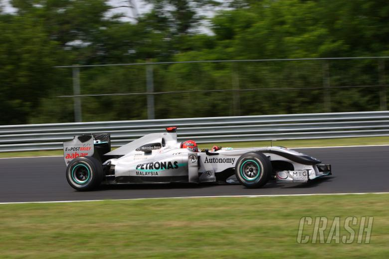 Saturday, Michael Schumacher  (GER), Mercedes GP F1 Team, MGP W01