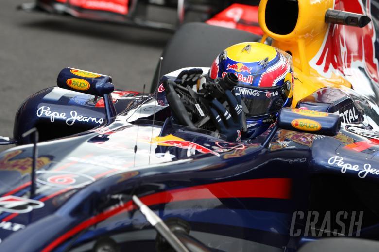 Qualifying, Mark Webber (AUS), Red Bull Racing, RB6