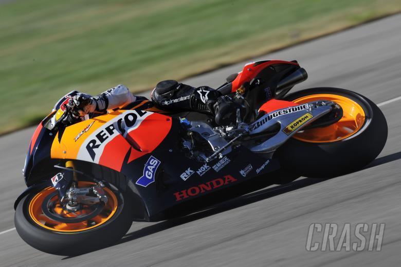 Pedrosa, Indianapolis MotoGP 2010