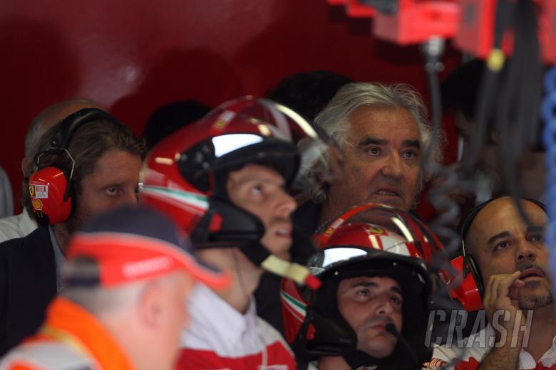 Qualifying, Flavio Briatore (ITA), Renault F1 Team, Team Chief, Managing Director and