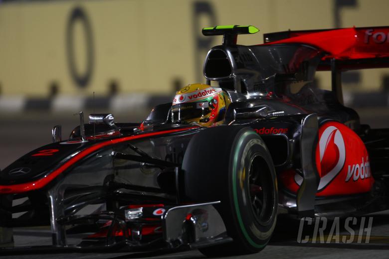 Friday Practice 2, Lewis Hamilton (GBR), McLaren  Mercedes, MP4-25