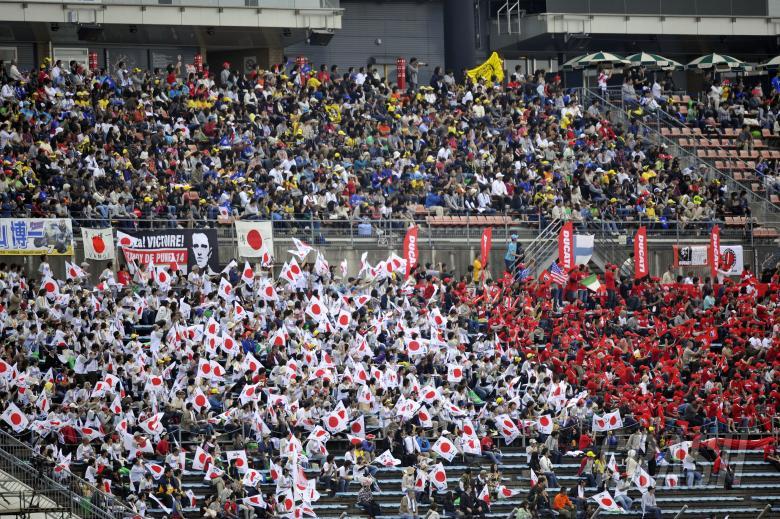Fans, Japanese MotoGP Race 2010