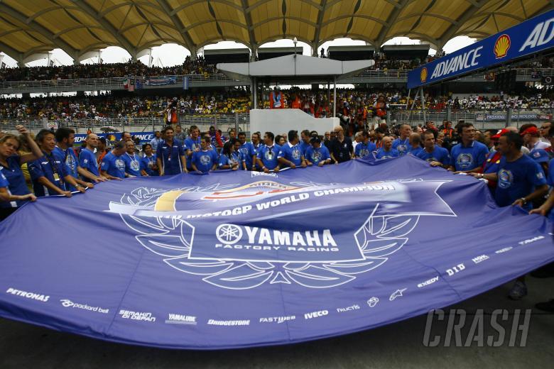 Lorenzo fans, Malaysian MotoGP 2010