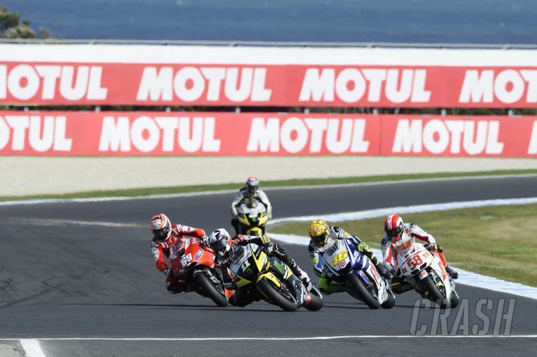 Spies, Australian MotoGP Race 2010