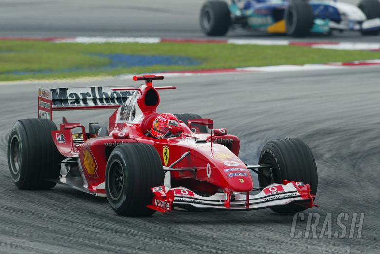 Michael Schumacher - Ferrari F2004