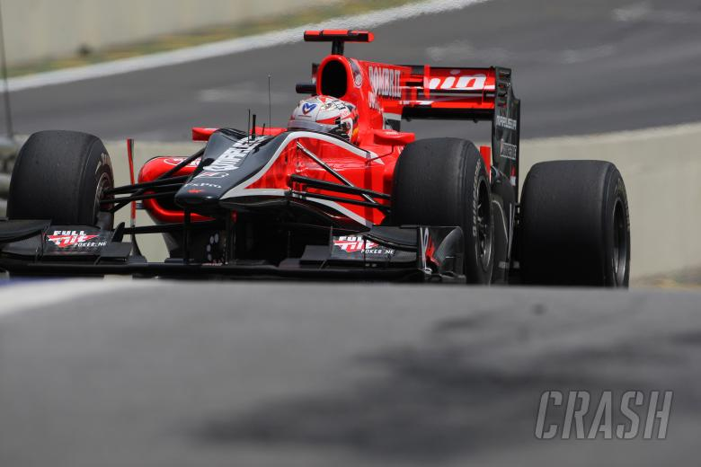 Friday Practice 1, Timo Glock (GER), Virgin Racing, VR-01