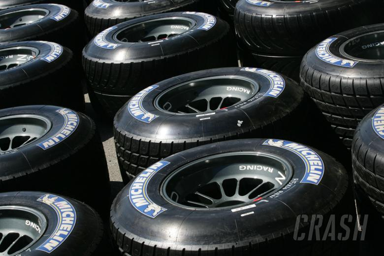 Renault`s Michelin tyres
