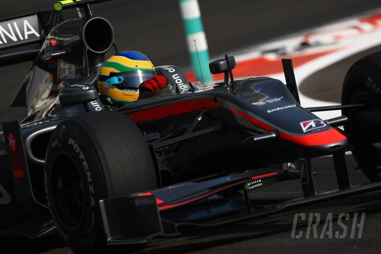 Saturday Practice, Bruno Senna (BRA), Hispania Racing F1 Team (HRT), F110