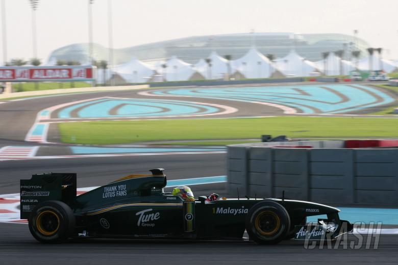 Rodolfo Gonzalez (VEN), Lotus F1 Team