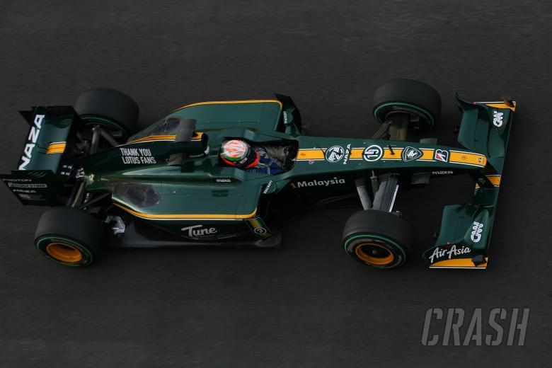Vladimir Arabadzhiev (BUL), Lotus F1 Team