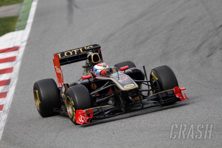 19.02.2011- Vitaly Petrov (RUS), Lotus Renault GP, R31