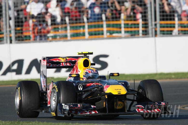27.03.2011- Race, Mark Webber (AUS), Red Bull Racing, RB7