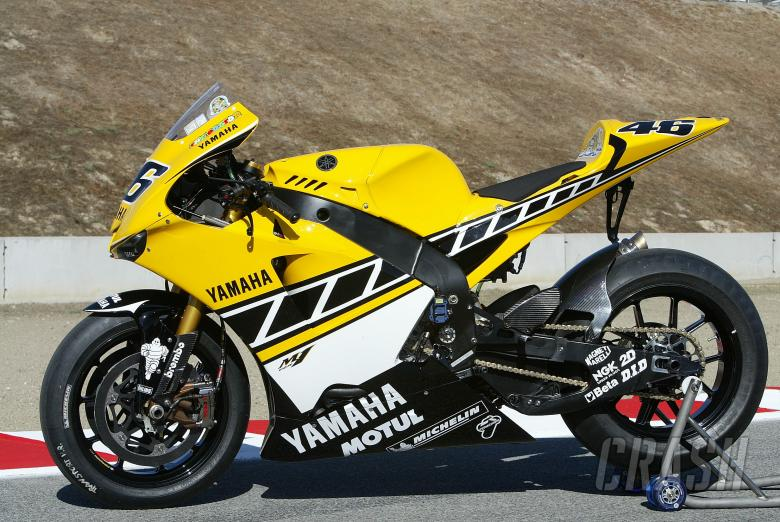Rossi`s 50th anniversary Yamaha YZR-M1, USA MotoGP, 2005